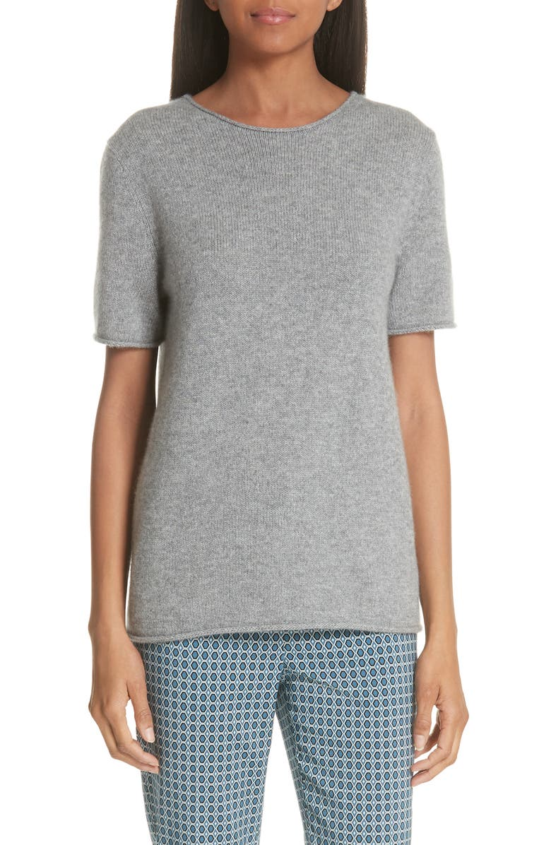124eb7b0d62 Theory Tolleree Short Sleeve Cashmere Sweater | Nordstrom