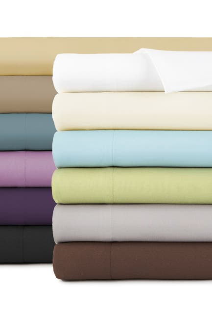 Image of SOUTHSHORE FINE LINENS Twin Sized Vilano Springs Extra Deep Pocket Sheet Set - Off White