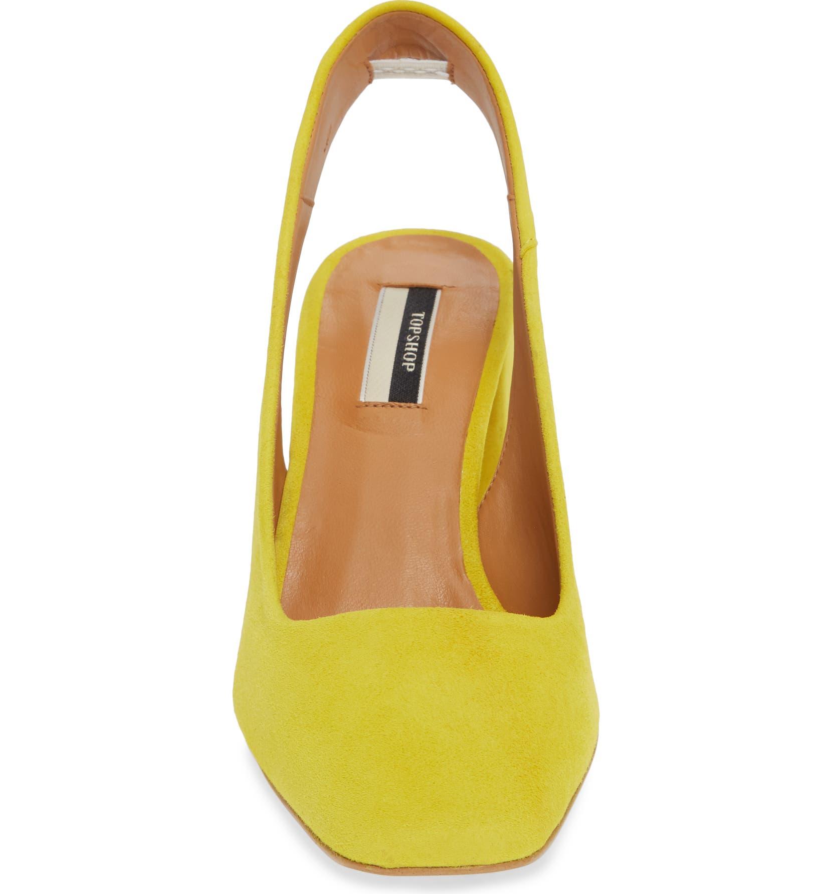 c19cdc46a98c Topshop Gainor Block Heel Slingback Pump (Women)   Nordstrom