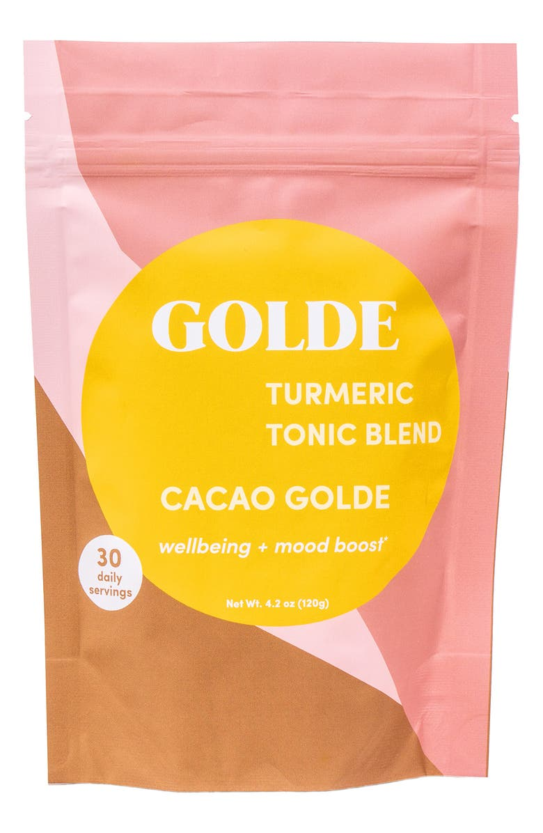 GOLDE Cacao Golde Turmeric Tonic Blend, Main, color, NONE
