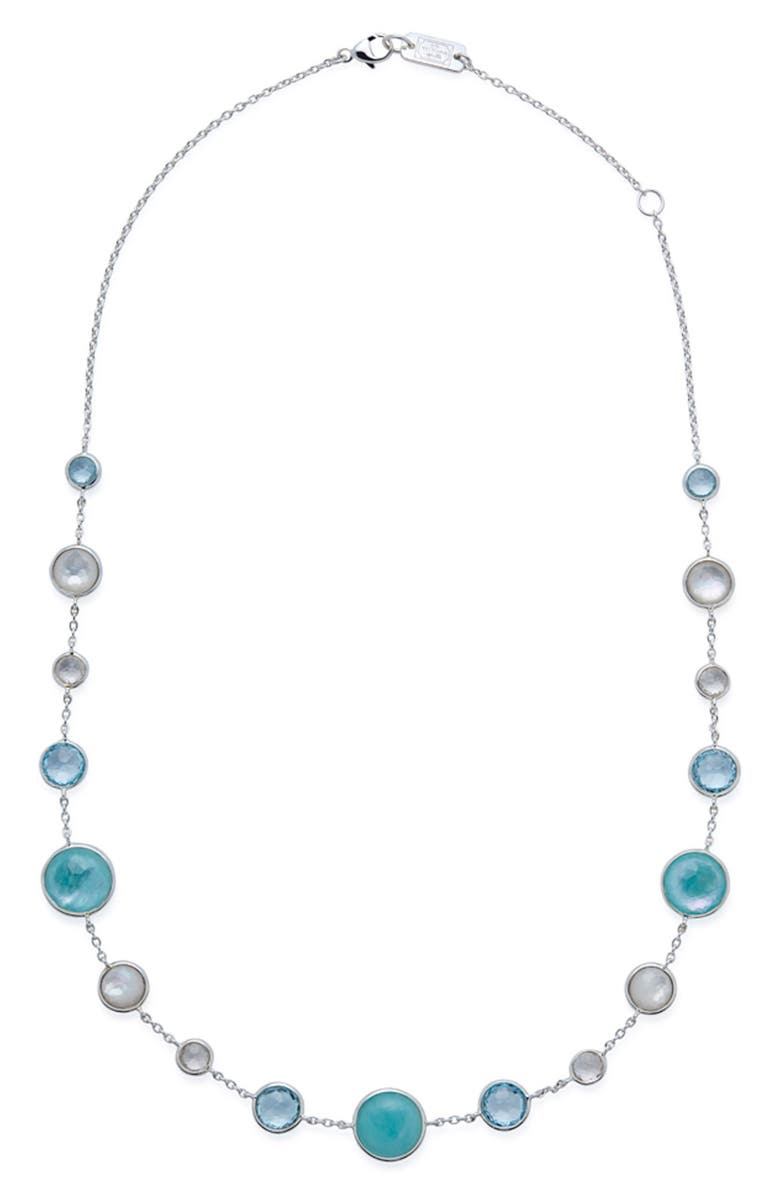 IPPOLITA Lollipop Lollitini Necklace, Main, color, SILVER/ QUARTZ