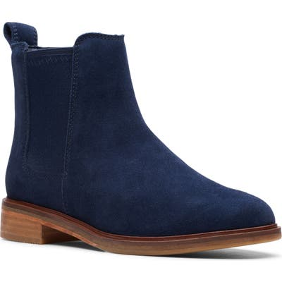 Clarks Clarkdale Arlo Boot- Blue