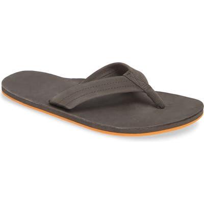Hari Mari Fields Flip Flop, Grey