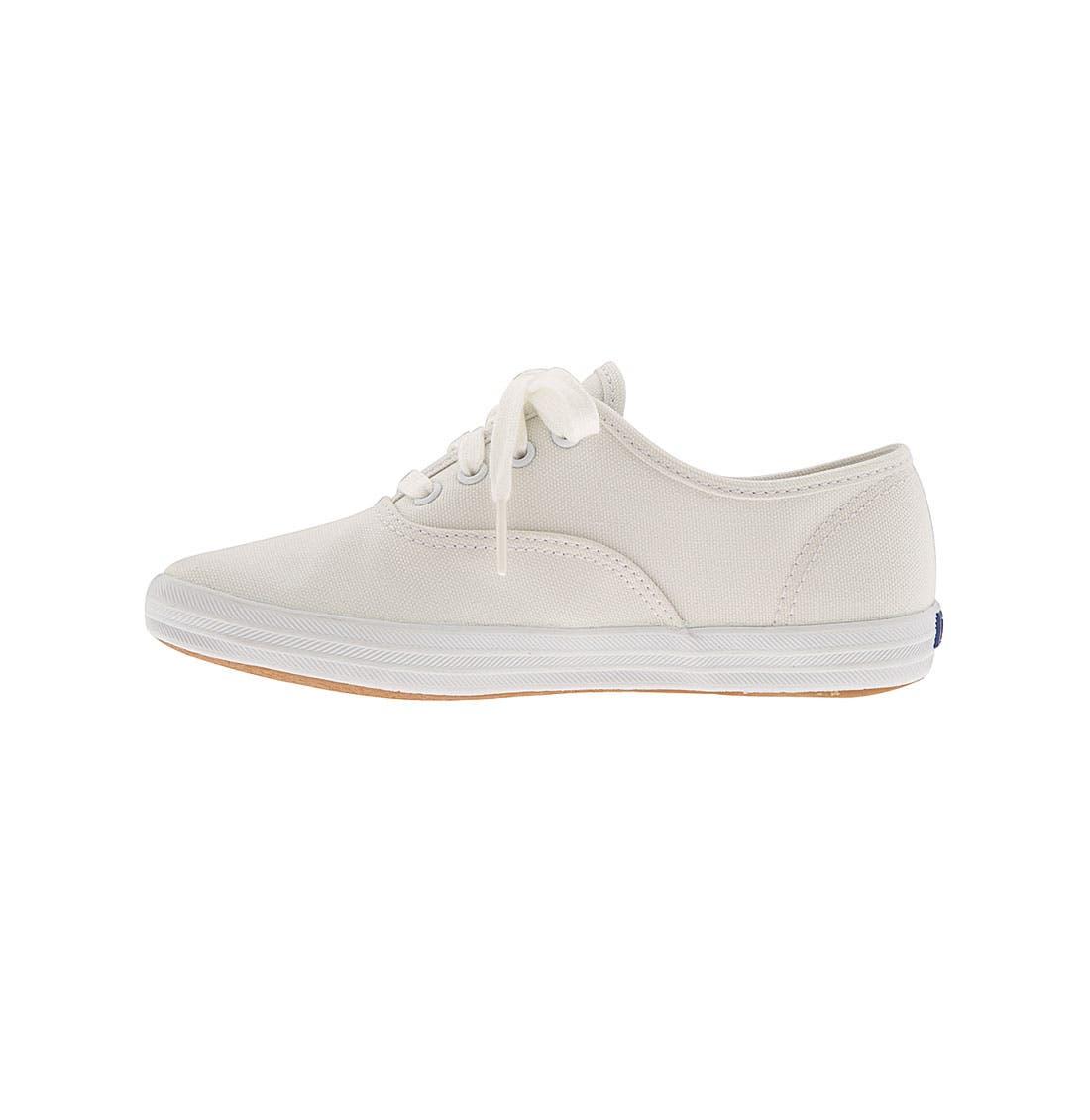 ,                             'Champion' Canvas Sneaker,                             Alternate thumbnail 4, color,                             NEW WHITE