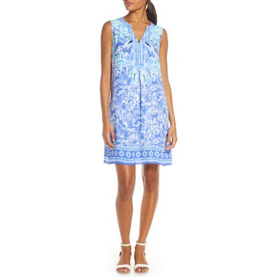 Lilly Pulitzer Evah Shift Dress, Blue