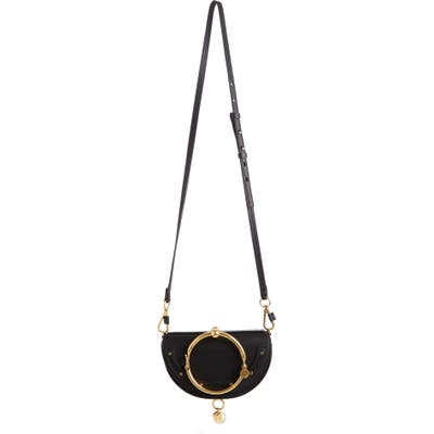 Chloe Small Nile Bracelet Calfskin Leather Minaudiere -