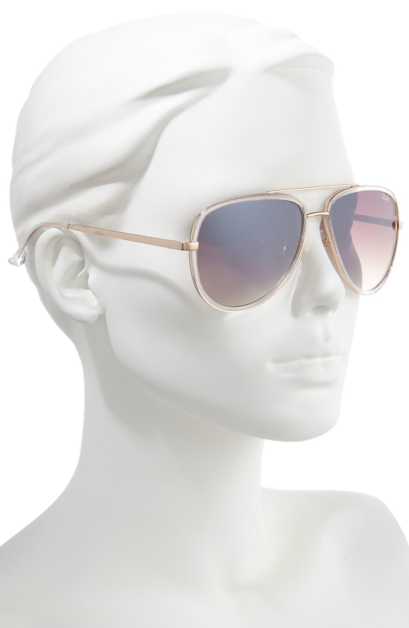 ,                             x JLO All In 56mm Aviator Sunglasses,                             Alternate thumbnail 6, color,                             902
