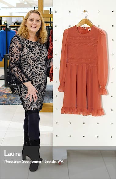 Smocked Ruffle Dress, sales video thumbnail