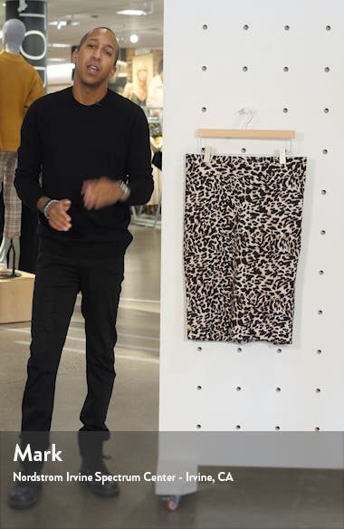 Animal Print Neoprene Pencil Skirt, sales video thumbnail