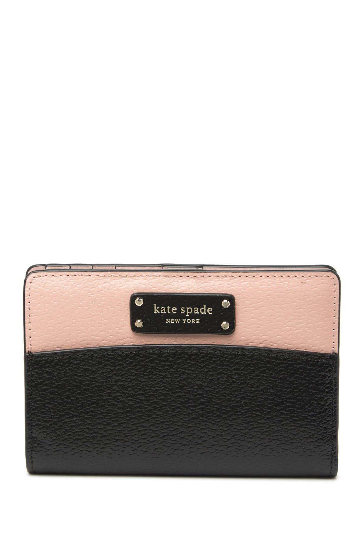 Image of kate spade new york slim bi-fold wallet