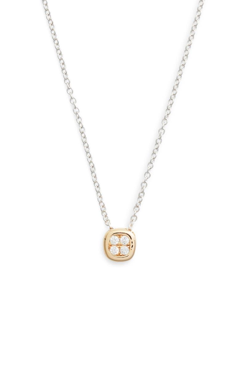 LAFONN Pavé Pendant Necklace, Main, color, 040