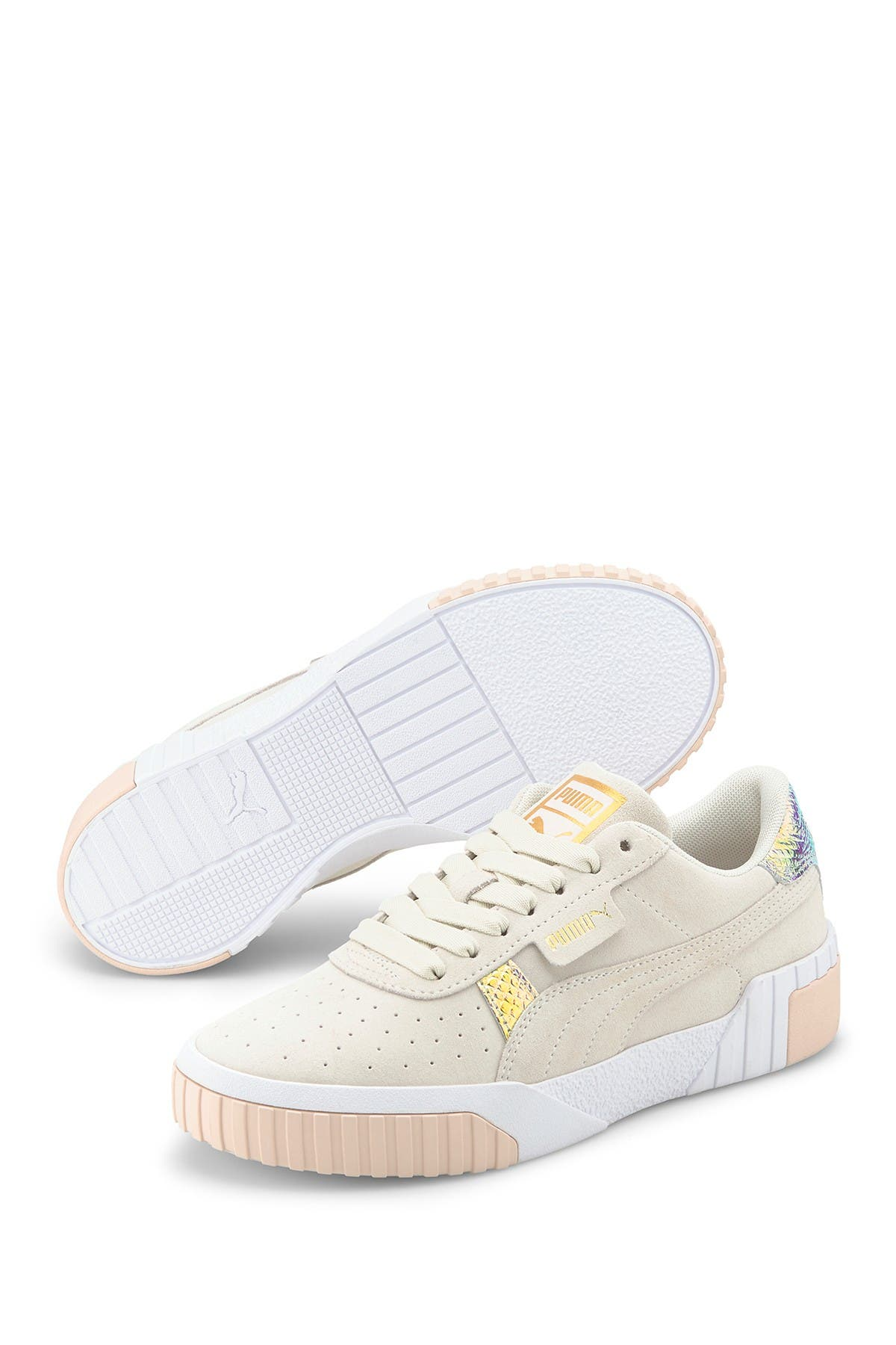 PUMA | Cali Suede Shimmer Low Top