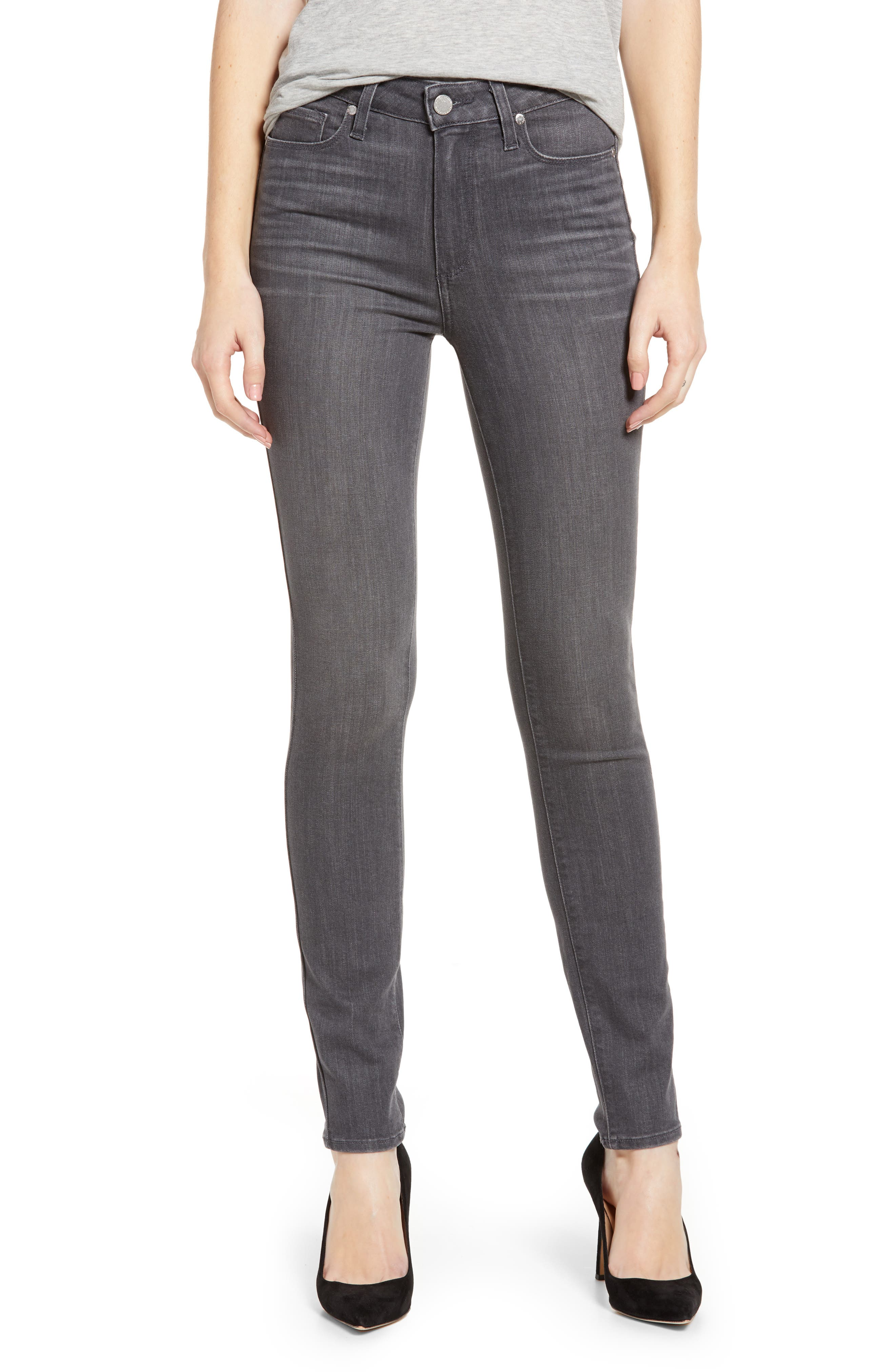Women's Paige Hoxton Transcend High Waist Skinny Jeans