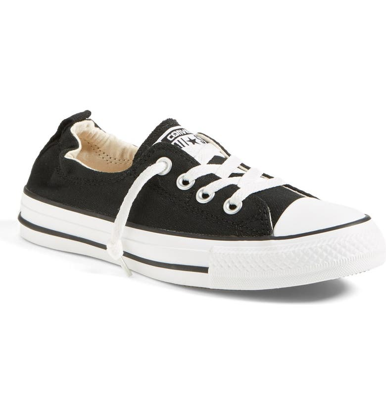 CONVERSE Chuck Taylor<sup>®</sup> 'Shoreline' Sneaker, Main, color, BLACK