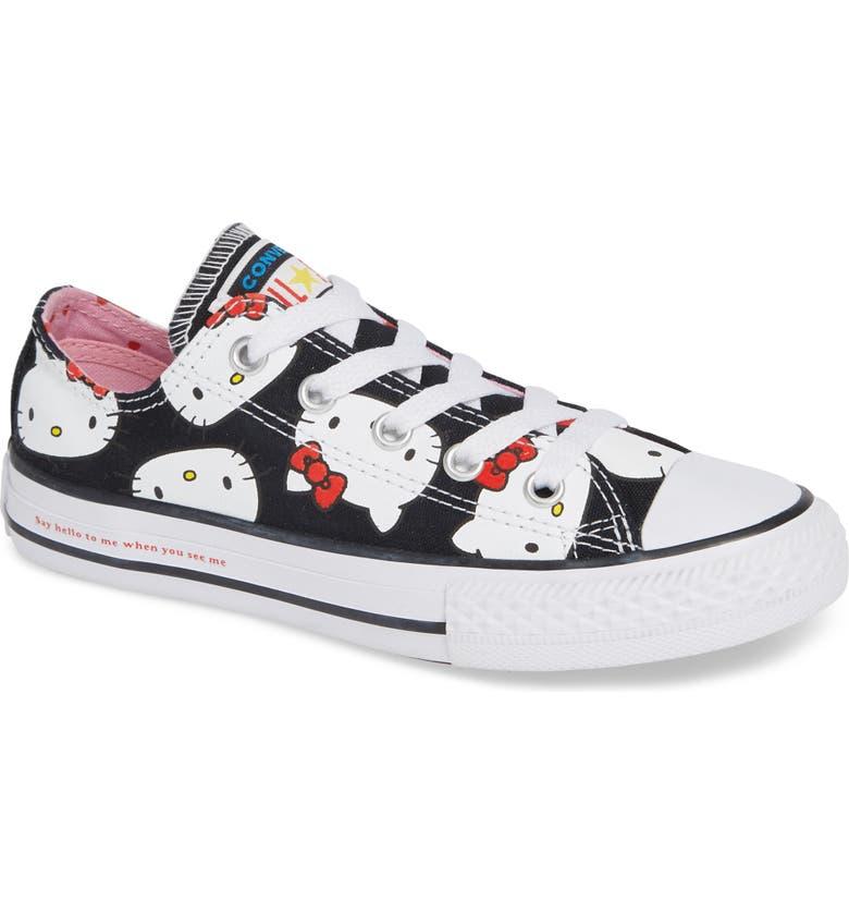 c1556e7f908 Converse Chuck Taylor® All Star® Hello Kitty® Sneaker (Baby, Walker ...