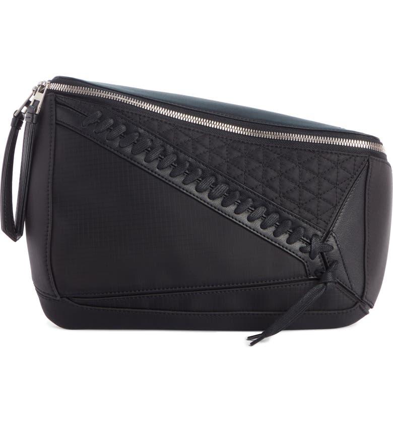 LOEWE Puzzle Sling Bag, Main, color, BLACK