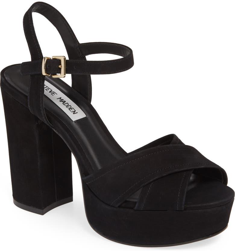 85e2ff53e0f Steve Madden Nessa Platform Sandal (Women)   Nordstrom