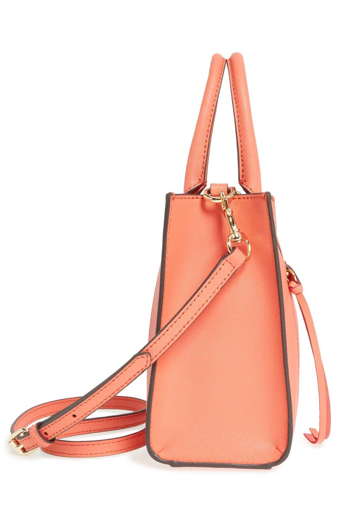 ,                             'Mini MAB Tote' Crossbody Bag,                             Alternate thumbnail 142, color,                             801