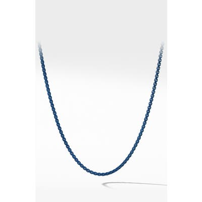 David Yurman Box Chain Necklace, m