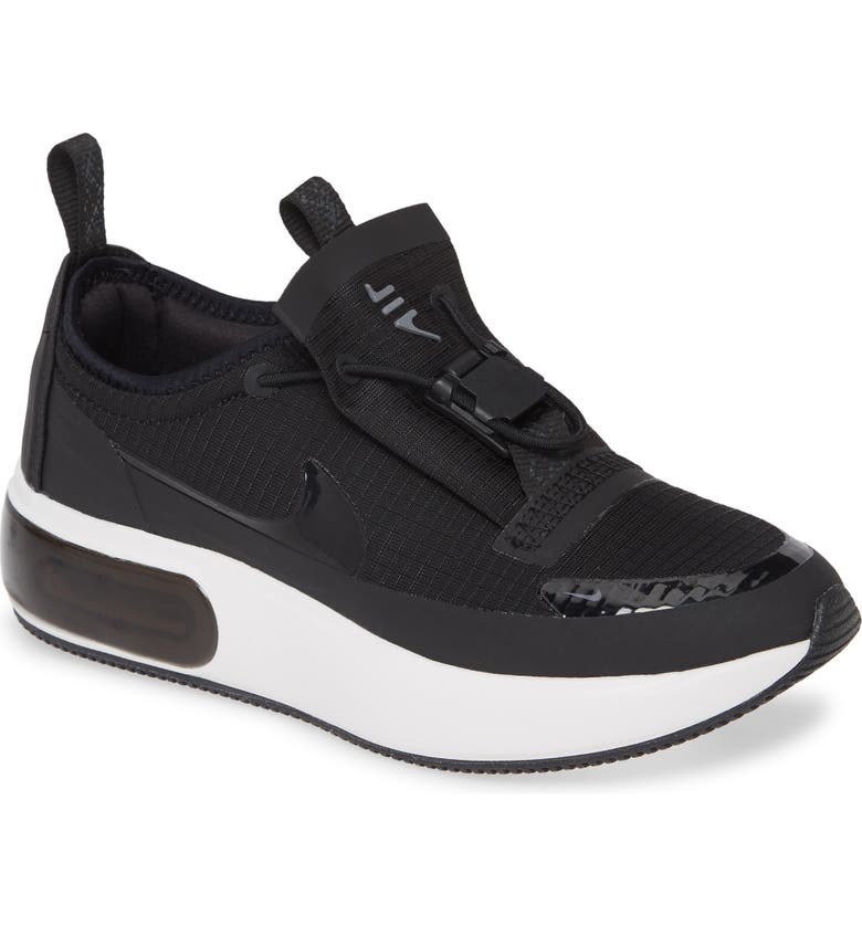 NIKE Air Max Dia Winter Sneaker, Main, color, BLACK/ ANTHRACITE/ WHITE