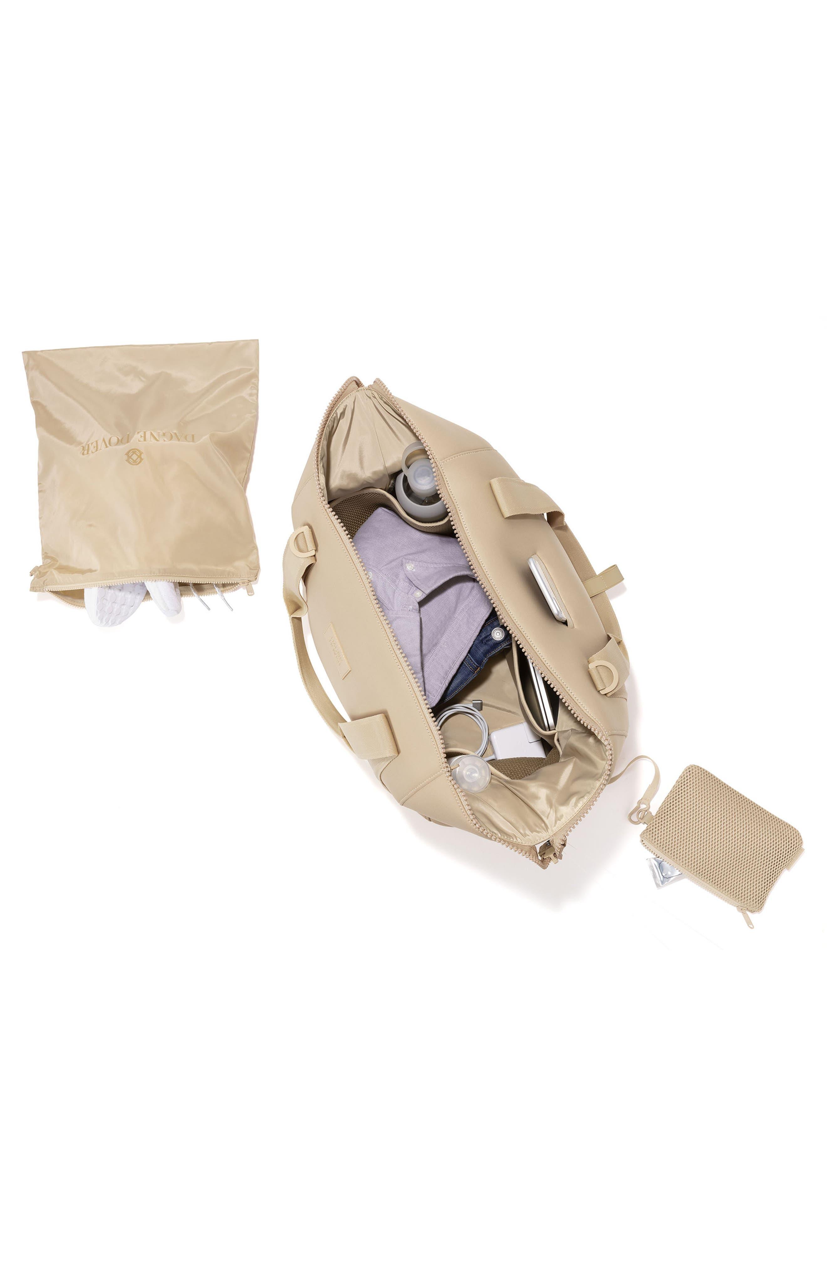 ,                             365 Large Landon Neoprene Carryall Duffle Bag,                             Alternate thumbnail 3, color,                             ALMOND LATTE