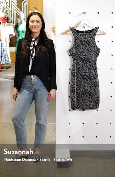Shimmer Sheath Dress, sales video thumbnail
