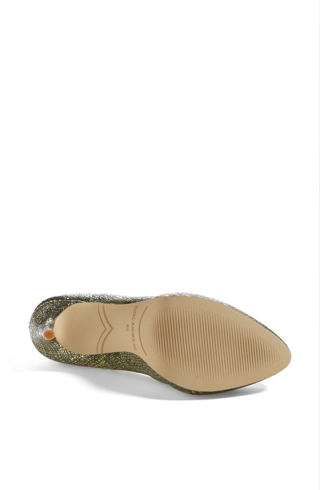 ,                             'Samendra' Cheetah Spot Calf Hair Platform Pump,                             Alternate thumbnail 10, color,                             710