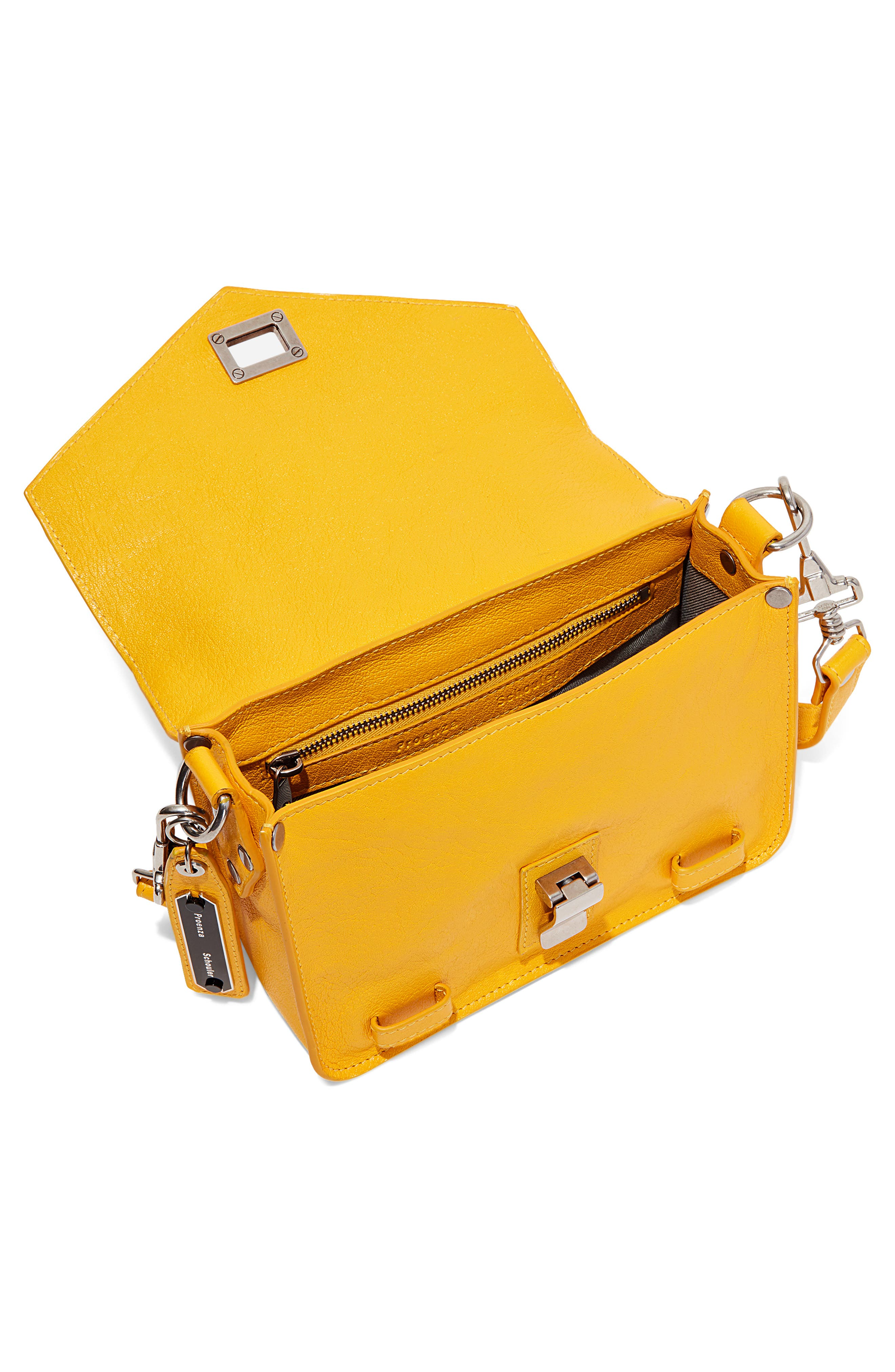 ,                             'Mini PS1' Lambskin Leather Crossbody Bag,                             Alternate thumbnail 4, color,                             799