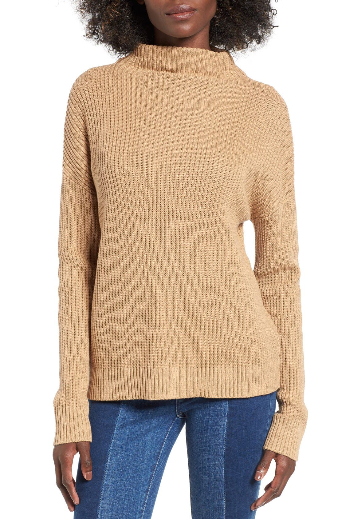 ,                             Mock Neck Sweater,                             Main thumbnail 11, color,                             251