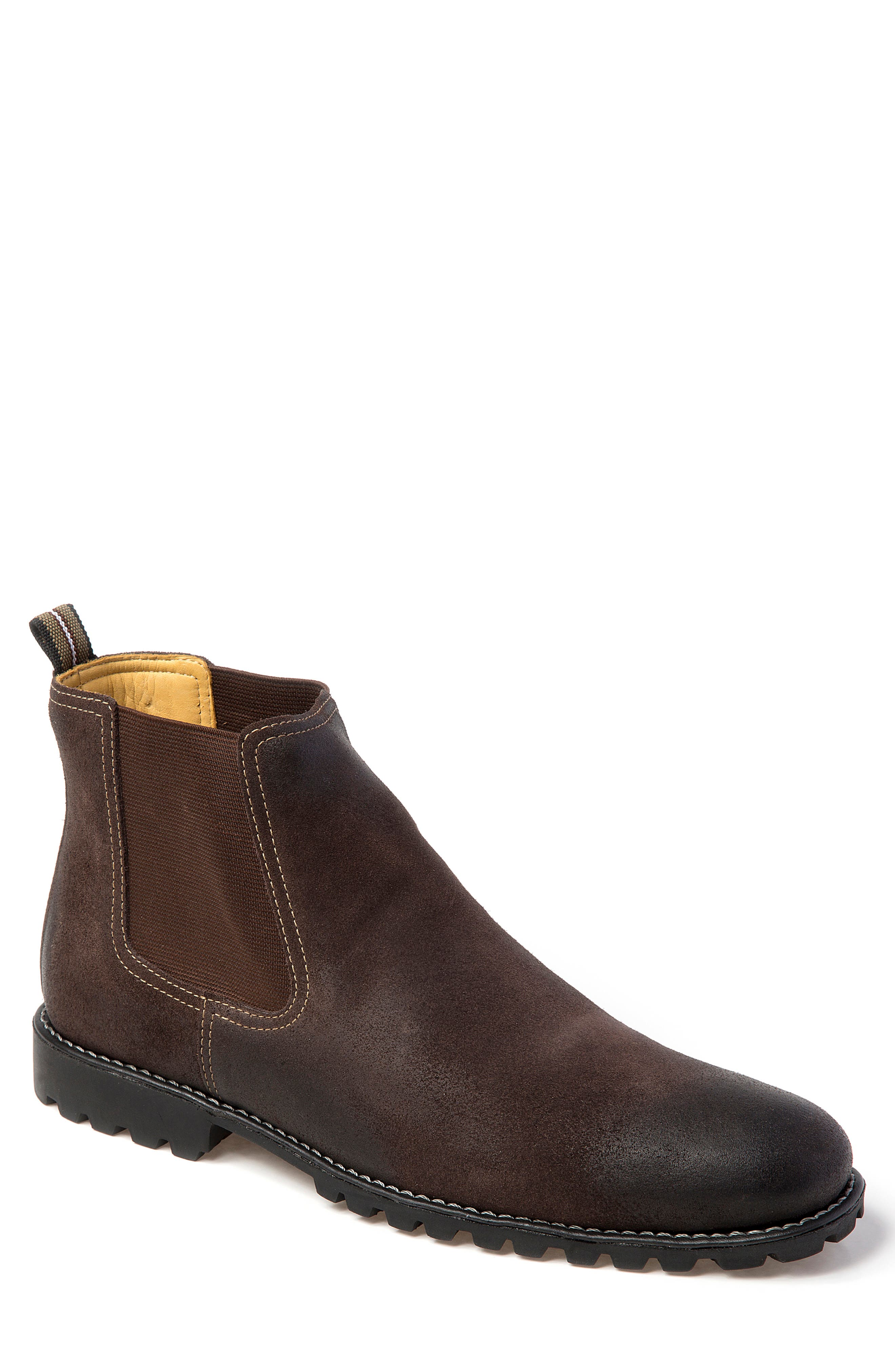 Sandro Moscoloni Cyrus Lugged Chelsea Boot - Brown