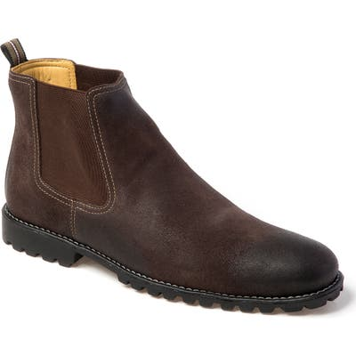 Sandro Moscoloni Cyrus Lugged Chelsea Boot, Brown