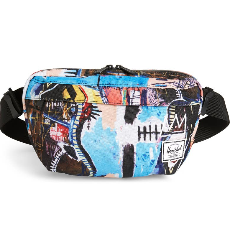 HERSCHEL SUPPLY CO. Nineteen Belt Bag, Main, color, BASQUIAT SKULL