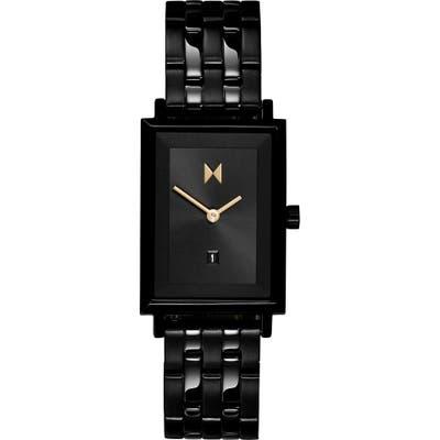 Mvmt Signature Square Caviar Bracelet Watch, 2m