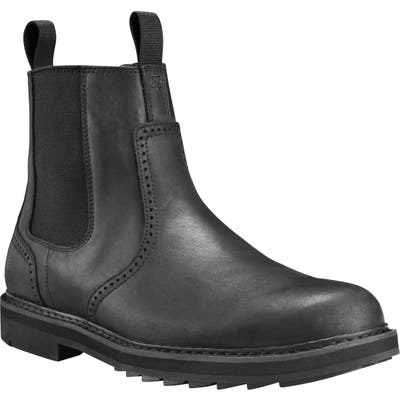 Timberland Squall Canyon Waterproof Chelsea Boot- Black