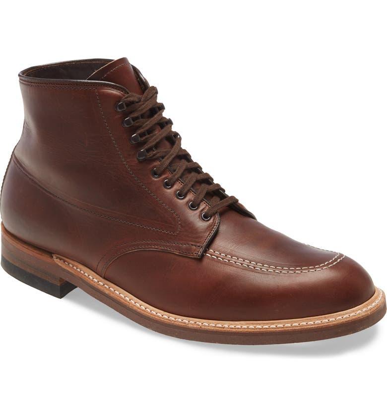 ALDEN Work Boot, Main, color, BROWN