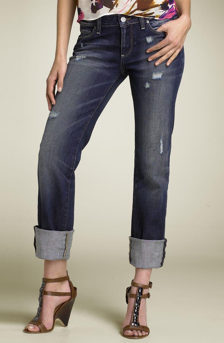 PAIGE Denim 'Jimmy Jimmy' Stretch Boyfriend Jeans, Main, color, 456