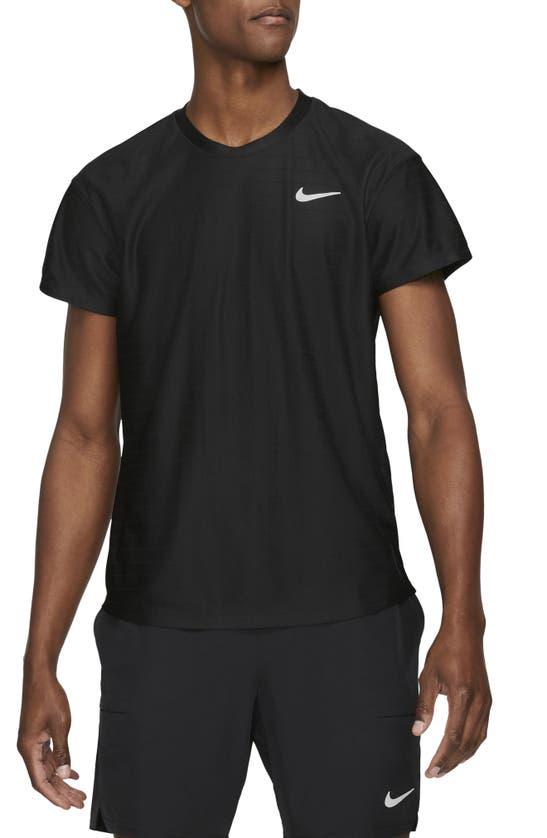Nike Tops COURT DRI-FIT ADVANTAGE TENNIS SHIRT
