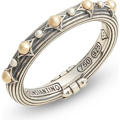 Konstantino Delos Slim Stacking Ring