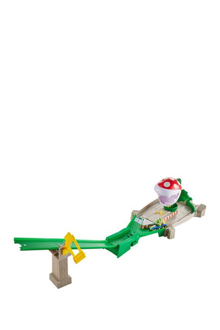 Image of Mattel Hot Wheels(R) Mario Kart(TM) Piranha Plant Slide Track Set