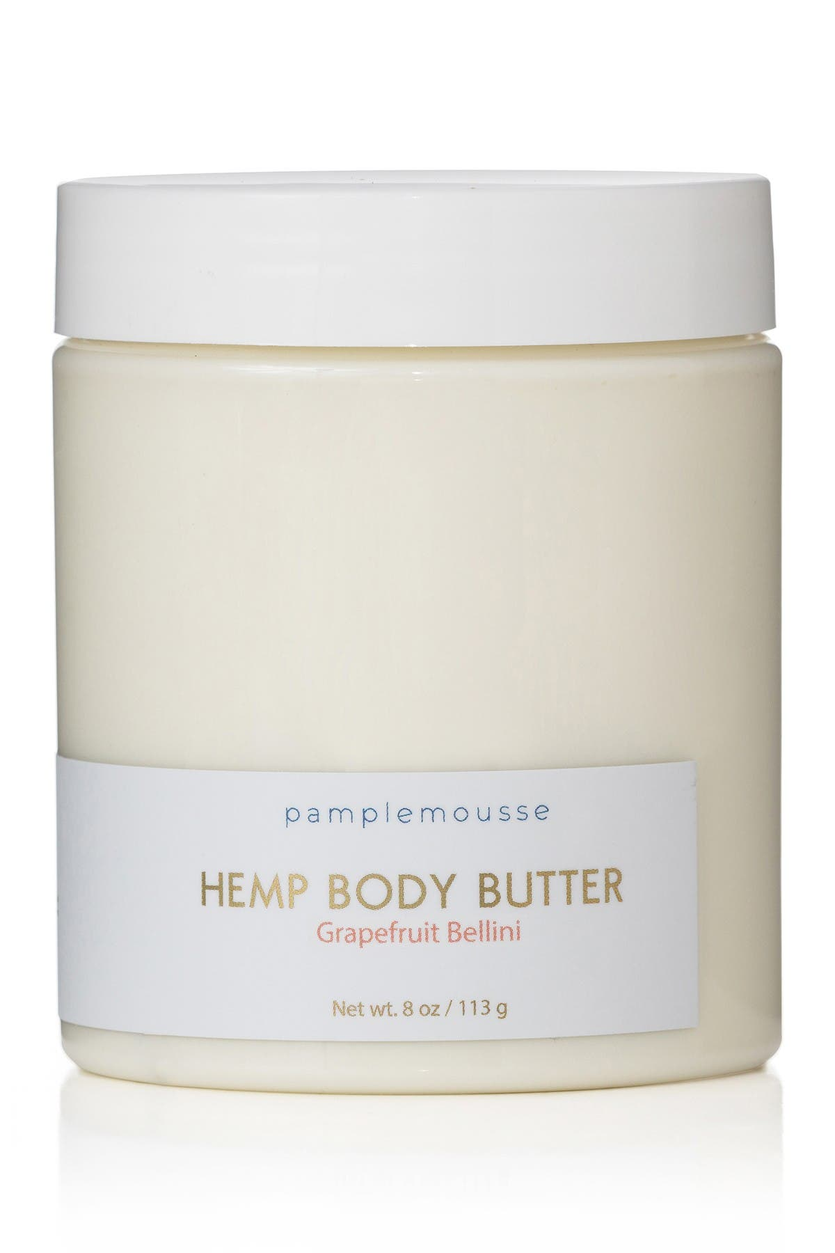 Image of Pamplemousse Hemp Body Butter - Grapefruit Bellini - 8 oz.