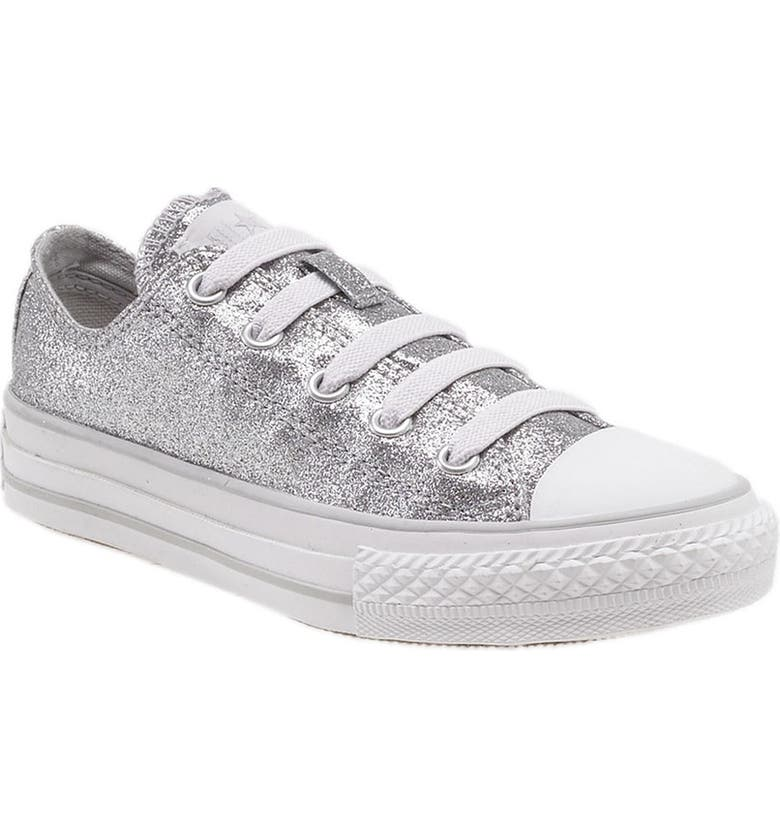 CONVERSE Chuck Taylor<sup>®</sup> 'Glitter Stretchy' Sneaker, Main, color, 040