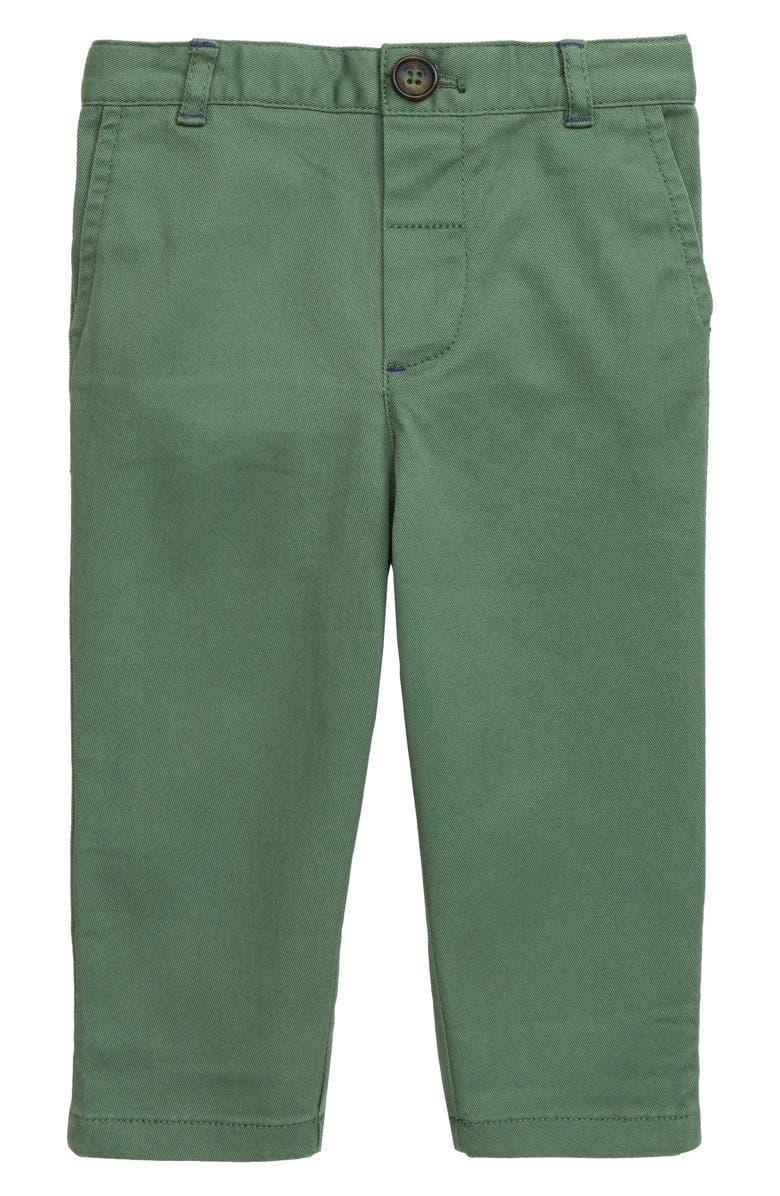 MINI BODEN Chino Pants, Main, color, SAFARI GREEN