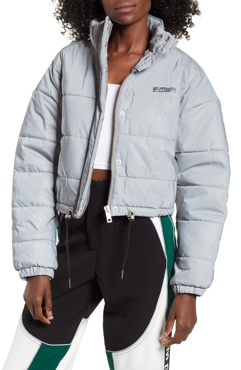 I.AM.GIA Hersilla Crop Puffer Coat, Main, color, 040