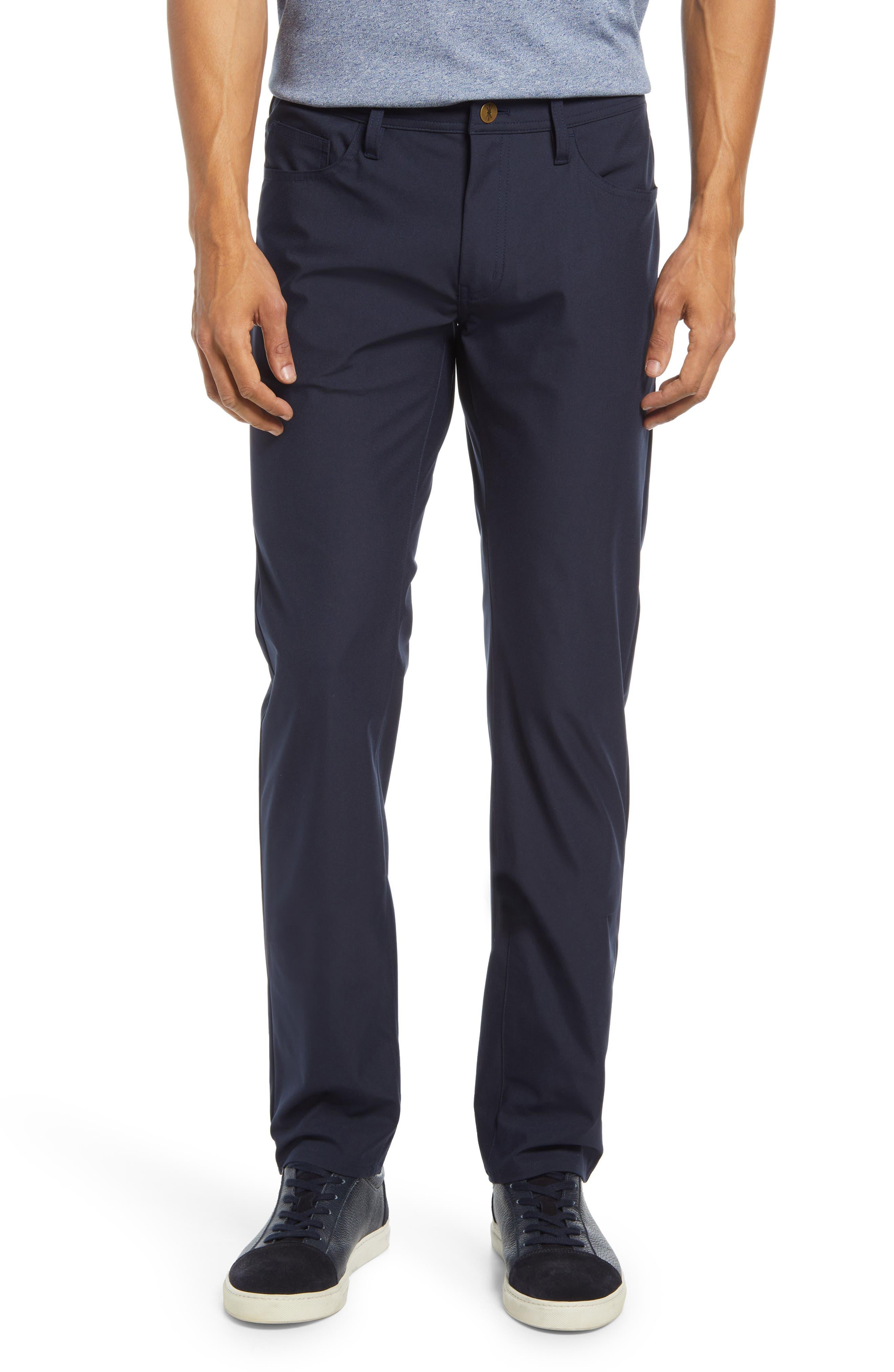 Johnny Traveler Stretch Cotton Five Pocket Pants