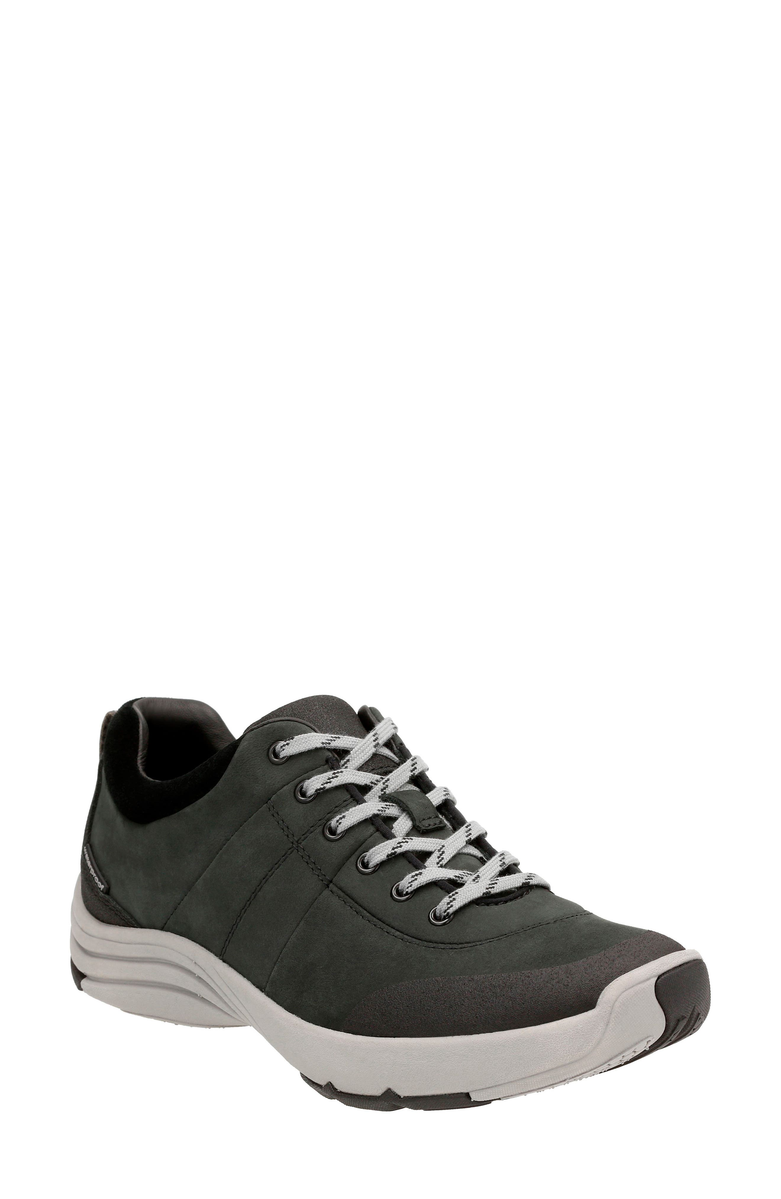 Wave Andes Sneaker, Main, color, BLACK NUBUCK LEATHER