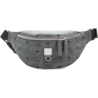 Mcm Fursten Visetos Small Belt Bag - Grey