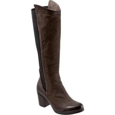 Bueno Walt Knee High Boot - Grey