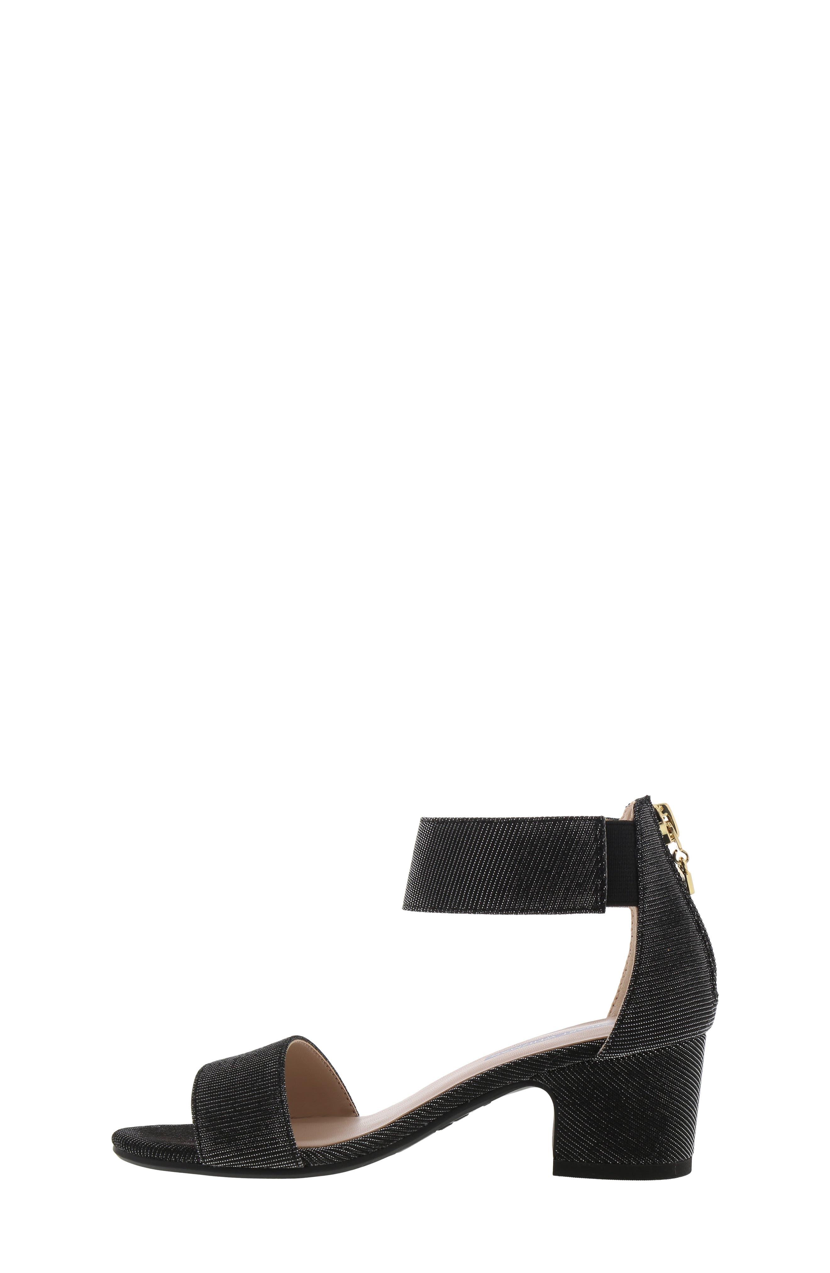 ,                             Rosalyn Alexa Sparkle Sandal,                             Alternate thumbnail 8, color,                             BLACK