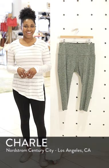 Walk & Talk Space Dye High Waist Leggings, sales video thumbnail