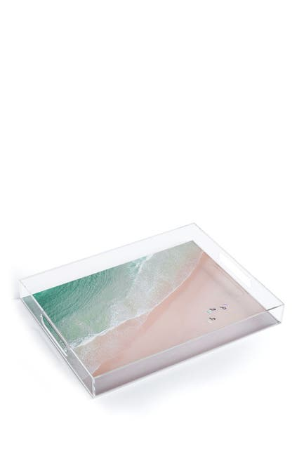Image of Deny Designs Ingrid Beddoes Surf Yoga Acrylic Tray